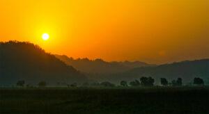 Corbett Sunrise Image