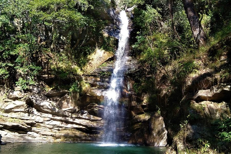 Waterfall Mukteshwar Uttarakhand