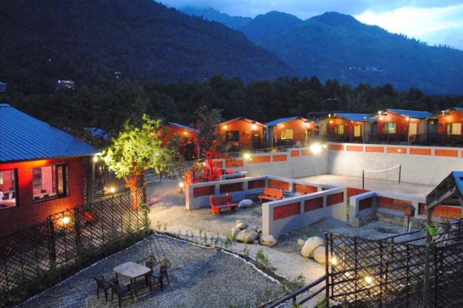 Samsara Resort Night View