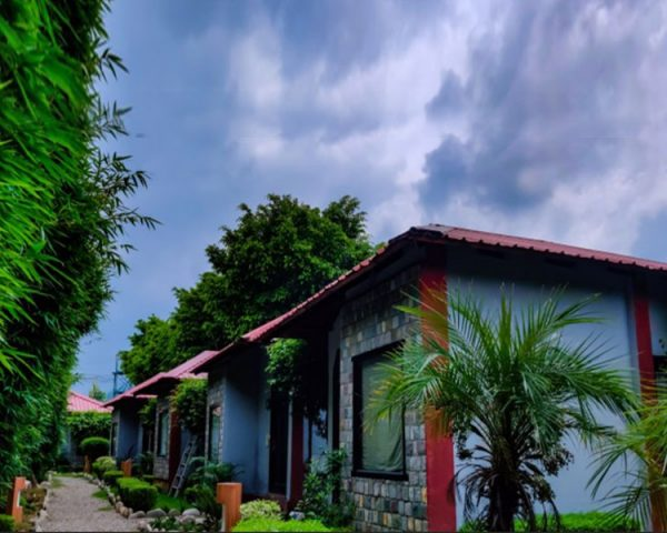 Corbett Machaan Cottage Side View