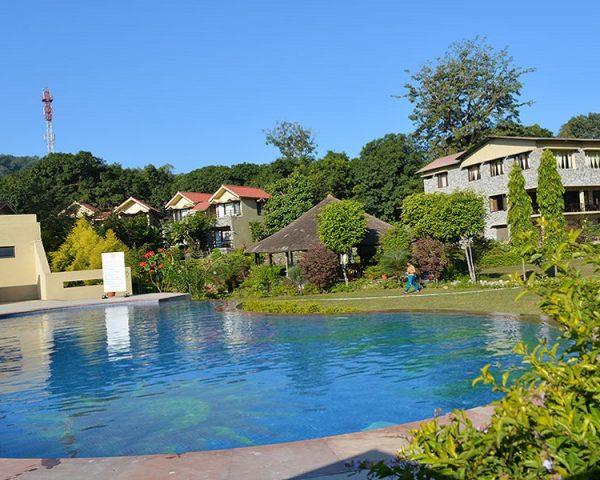 Pratiksha Corbett Swimming Pool