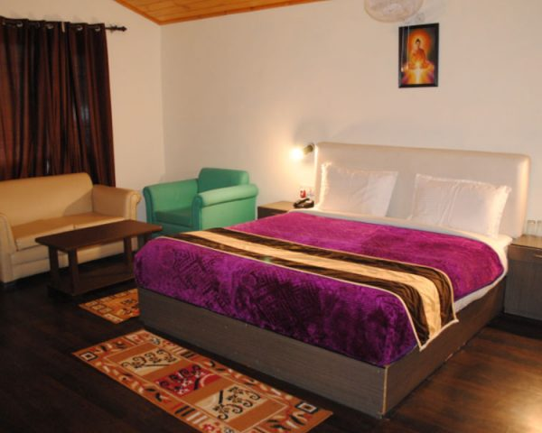 Samsara Resort Bedroom View