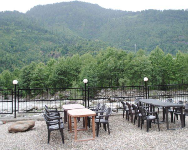 Samsara Resort Outer Sitting Area
